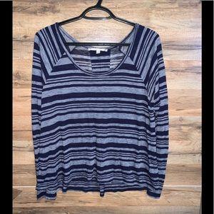 SOFT JOIE   striped shirt blouse